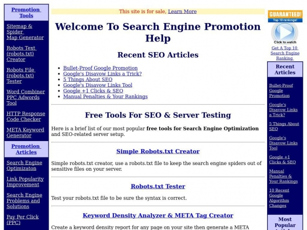searchenginepromotionhelp.com